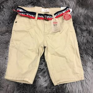 Levi's 511 Slim Short: Khaki (PM1651)
